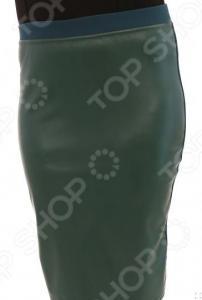 Юбка Лауме-Лайн «Модница». Цвет: изумрудный