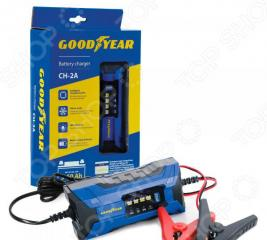Устройство зарядное для автомобильных аккумуляторов Goodyear CH-2A