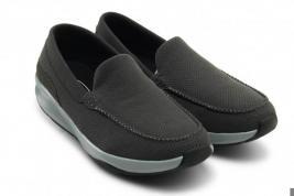 Мокасины мужские Walkmaxx Comfort. Цвет: серый