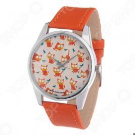 Часы наручные Mitya Veselkov «Рыжие кошки» Gold