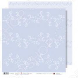 Бумага для скрапбукинга Rayher «Белые цветы»