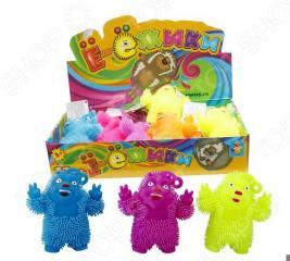 Игрушка-антистресс 1 Toy «Медвежонок-хиппи». В ассортименте
