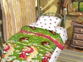Детский комплект постельного белья Непоседа Большая стирка