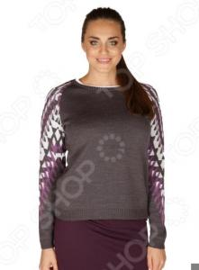 Джемпер VAY «Милда». Цвет: пурпурный