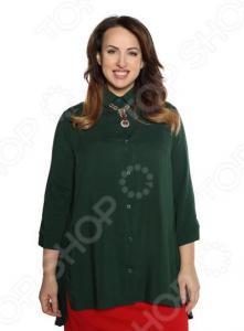 Рубашка Pretty Woman «Край чудес». Цвет: темно-зеленый