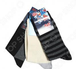 Подарочный набор носков мужской 3 пары. Цвет: в ассортименте