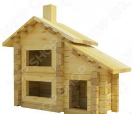 Конструктор деревянный Лесовичок «Разборный домик №1»
