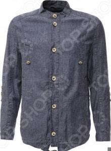 Куртка Finn Flare S16-21008. Цвет: темно-синий
