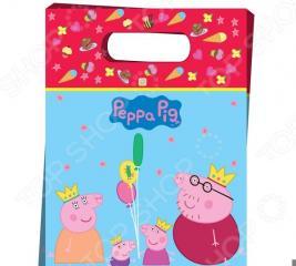 Набор пакетов для подарков Peppa Pig «Пеппа-принцесса»