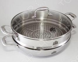 Сковорода вок с крышкой Stahlberg KROMWELL 1616-S