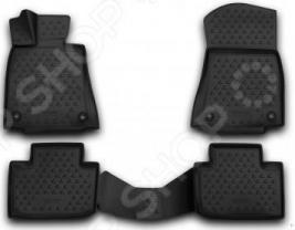 Комплект 3D ковриков в салон автомобиля Element Lexus IS 250 2013-2015 / 2015
