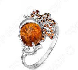 Кольцо «Янтарный мотив» 1000-0053