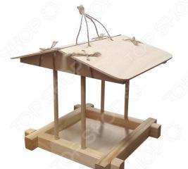 Заготовка деревянная для изготовления кормушки RNToys сборная под роспись «Японская»