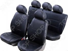 Набор чехлов для сидений Senator Atlant Datsun On-Do 2014 слитный задний ряд