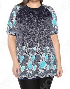 Блуза Лауме-Лайн «Источник красоты». Цвет: бирюзовый