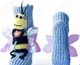Носки с игрушкой HOBBY LINE «Пчелка»