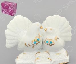 Фигурка декоративная Elan Gallery Голубь и голубка