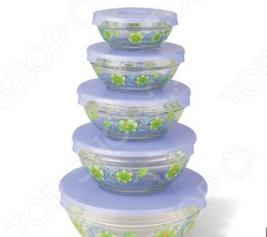 Набор салатников Irit «Летние цветы». В ассортименте