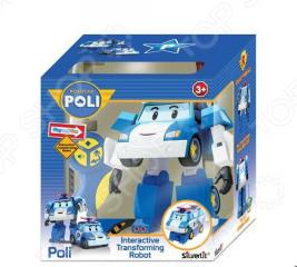 Игрушка радиоуправляемая Poli «Робот-трансформер Поли» 83086