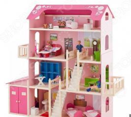Кукольный дом с аксессуарами PAREMO «Нежность»