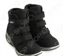 Ботинки демисезонные Walkmaxx Wedge. Цвет: черный