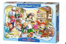 Пазл 20 элементов Castorland «Белоснежка»