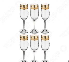 Набор фужеров для шампанского «Кристалл»