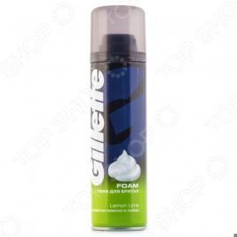 Пена для бритья Gillette Foam Lemon Lime