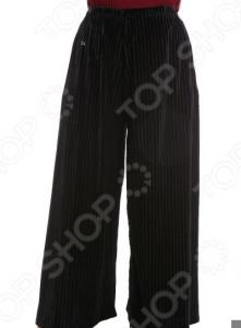 Юбка-брюки Pretty Woman «Бархатный выход». Цвет: черный
