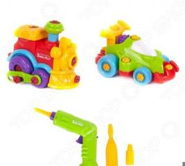Игровой набор Keenway «Машинка и паровозик»