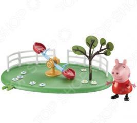 Набор игровой c фигуркой Росмэн «Игровая площадка. Качели-качалка»