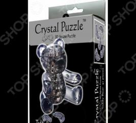Кристальный пазл 3D Crystal Puzzle «Мишка дымчатый»