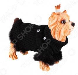 Свитер для собак DEZZIE «Бетти». Цвет: черный