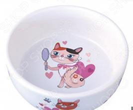 Миска для кошек DEZZIE «Красавица»