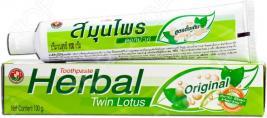 Зубная паста Twin Lotus Herbal Original