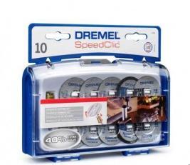 Набор из дисков отрезных и держателя Dremel SC690