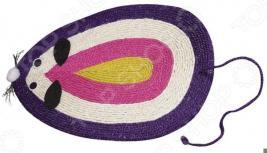 Коврик-когтеточка DEZZIE «Мышь-радуга»