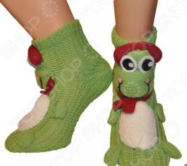 Носки с игрушкой HOBBY LINE «Лягушка в наушниках»