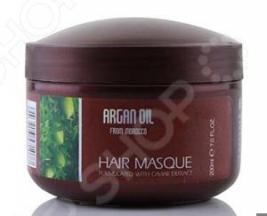 Маска для питания и увлажнения волос с маслом арганы из Марокко и экстрактом икры