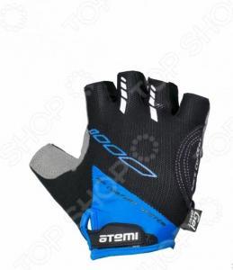 Перчатки велосипедные вентилируемые Atemi AGC-04. Цвет: синий