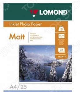 Фотобумага Lomond 0102037