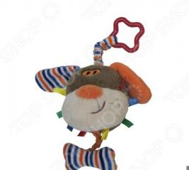 Игрушка-погремушка мягкая Coool Toys «Песик»