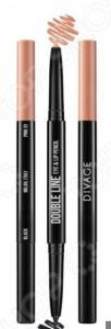 Карандаш автоматический для глаз и губ DIVAGE Double Line Eye & Lip Pencil