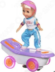 Кукла интерактивная Bradex «Молли на скейте». В ассортименте