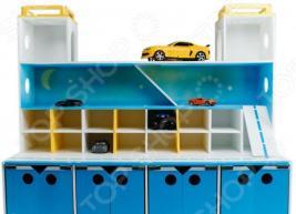 Система хранения игрушек PAREMO «Парковка». Рисунок: звездное небо