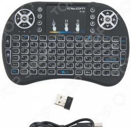 Мини-клавиатура с тачпадом беспроводная СИГНАЛ АТ 103