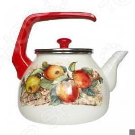 Чайник со свистком Interos «Яблоки»