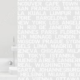 Штора для ванной Bacchetta City
