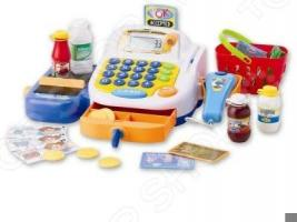 Игрушка музыкальная Keenway «Набор-супермаркет: кассовый аппарат, микрофон, продукты»