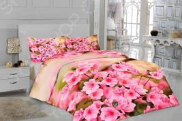 Комплект постельного белья «Весенние цветы». 1,5-спальный